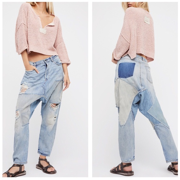 96865b27ac6ec Free People Denim - Free People☀️Blazing Summer Harem Jeans